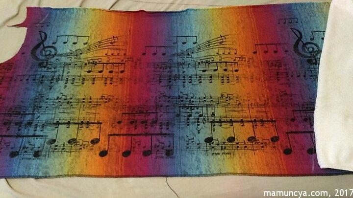 Шматок шарфа Lenny Lamb Symphony Rainbow